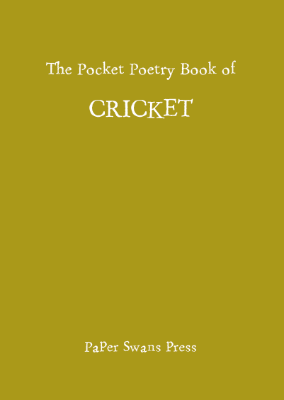 The Pocket Poetry Book of Cricket